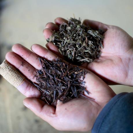 柿の葉茶 プレーン(リーフ 100g)