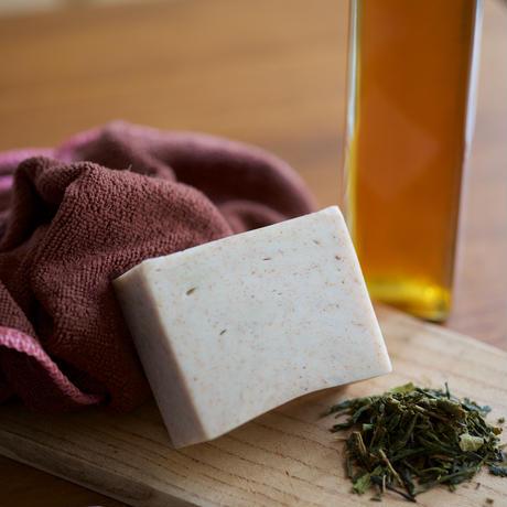 お風呂セット 柿の葉はちみつ石鹸と入浴剤3種の詰合せ