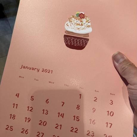 ほうせき箱カレンダー (A4 12枚綴)