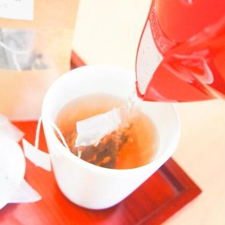 メグスリノキになる茶 9ティーバッグ入り6袋(国産ブルーベリー入り)