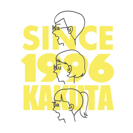 KAKUTAオリジナルTシャツ(よこがおバージョン)