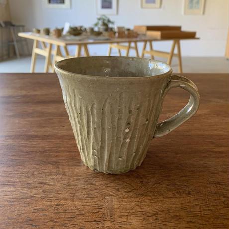 しのぎマグカップ