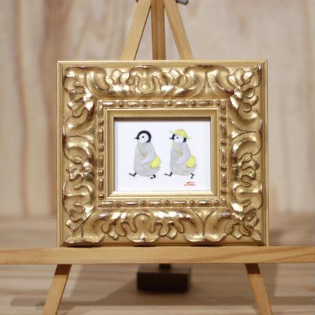 双子ペンギン
