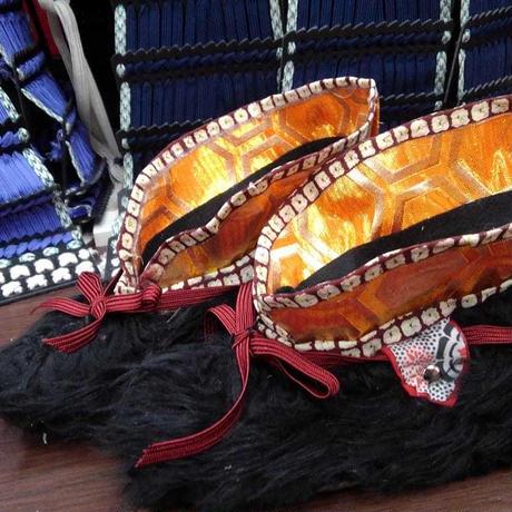 手づくり貫(毛靴) -騎馬武者には必須の馬上靴-