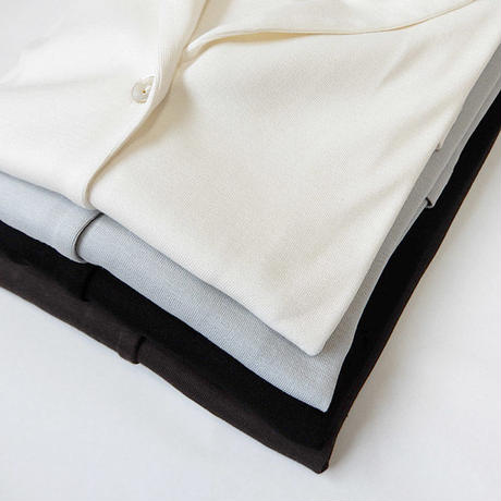 【Pearmanent Age】  パーマネントエイジ   シルクコットンジャケット ◆  季節の変わり目にさっと羽織って冷房・紫外線対策にも◎