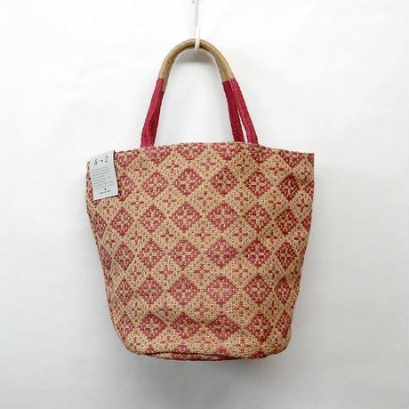 【hinthint】  ヒントヒント  ジュートトートバッグ ◆  夏のお出かけには涼やかなバッグで