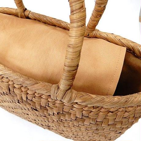 【hinthint】  ヒントヒント 山葡萄バッグ ◆  天然素材の温もり年代問わず人気