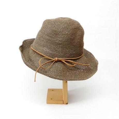 【Horn Please STYLE】  アンダリハットレザーストリング ハット ◆  どんなお洋服にも合う万能ハット