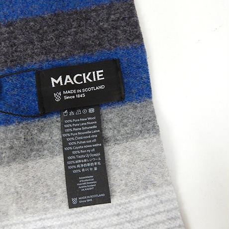 【ROBERT MACKIE】ロバートマッキーマフラー S-758
