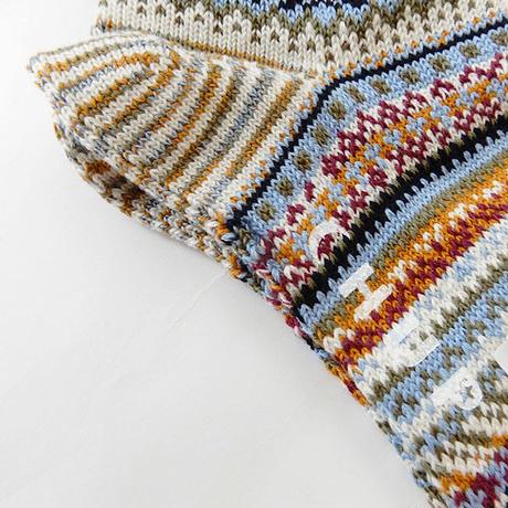 【CHUP】チュプ  ソックス  UISCE(ウィスカ)   ◆  繊細で美しい配色の最高品質ソックス