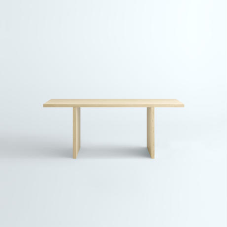 「JUPITER Collection Limited Edition」 HAKO DINING TABLE Natural Wood