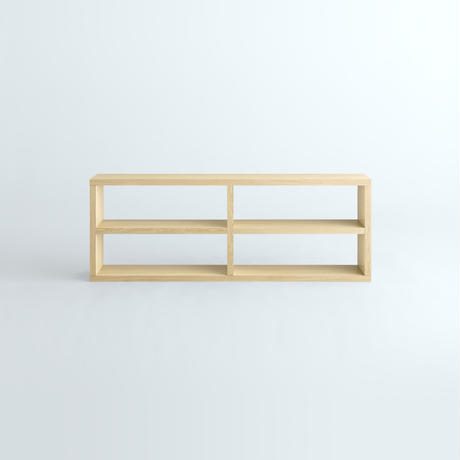 「JUPITER Collection Limited Edition」 HAKO BOOK SHELF 1800 x 660 Natural Wood