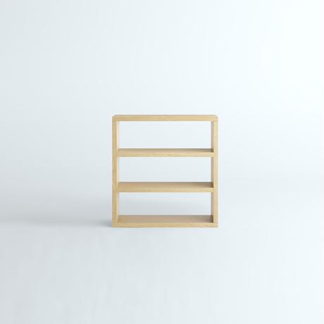 「JUPITER Collection Limited Edition」 HAKO BOOK SHELF 920 x 970 Natural Wood