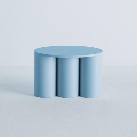 TSUTSU STOOL 3 Light Blue
