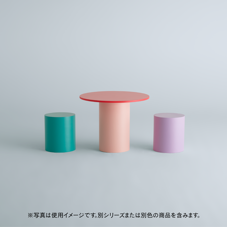 TSUTSU DINING TABLE Baby Pink