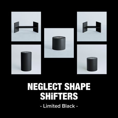 「NEGLECT SHAPE SHiFTERS Limited Black」TSUTSU BOX