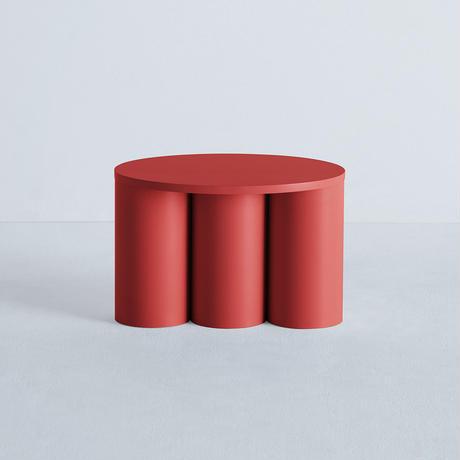 TSUTSU STOOL 3 Red