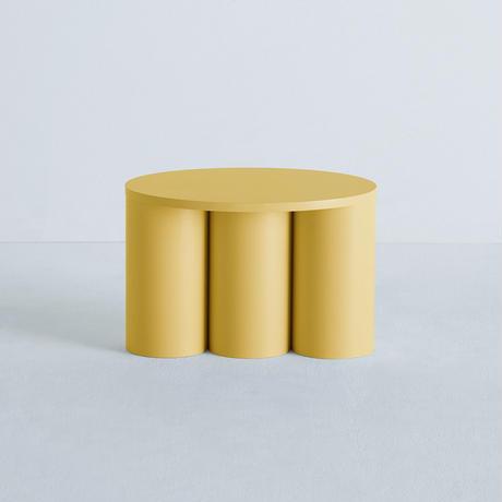 TSUTSU STOOL 3 Yellow