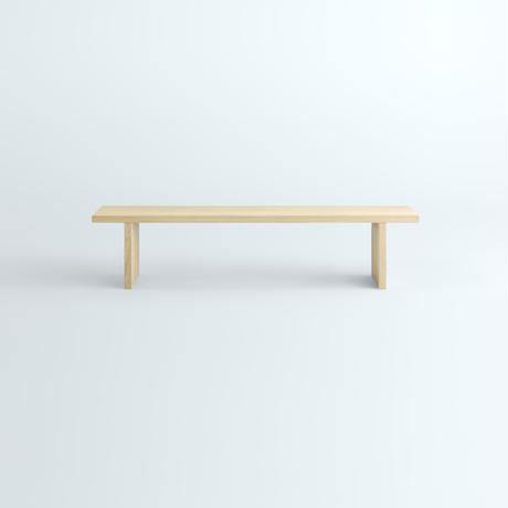 「JUPITER Collection Limited Edition」 HAKO BENCH Natural Wood