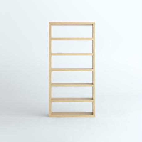 「JUPITER Collection Limited Edition」 HAKO BOOK SHELF 1900 x 920 Natural Wood