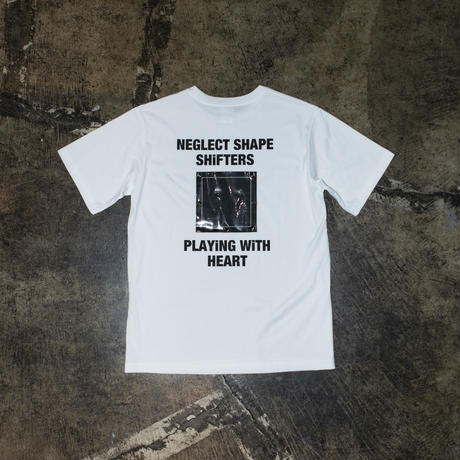 「NEGLECT SHAPE SHiFTERS Limited Edition」 TEE (黒/白100枚ずつ限定)