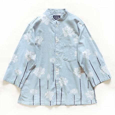 【晒シャツ】レディース向け七分袖 白蓮