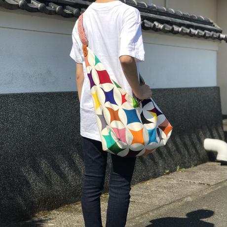 【あづまバッグ】七宝(選べるベルトカラー)〈贈り物にも!〉