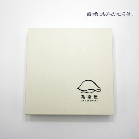 【漆プリントマスクケース】檜垣柄 〈贈り物にも!〉
