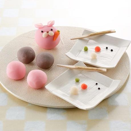 アニマル上生菓子キット ※動物の種類を備考欄に記載下さい。