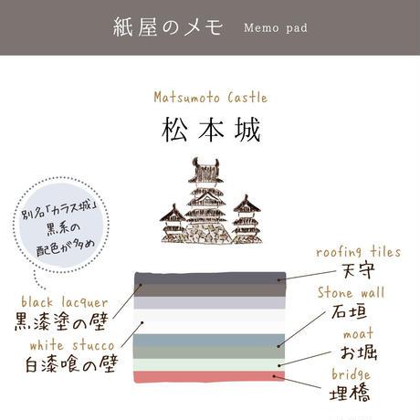 紙屋のメモ 松本城