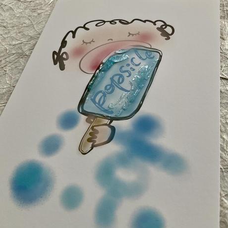 アイスキャンディー涼