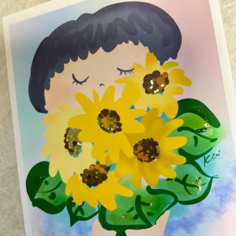 向日葵いつもありがとう