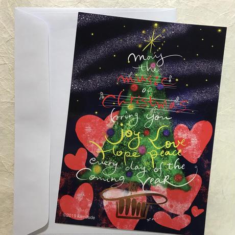 クリスマスツリー♡ハート