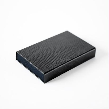 box card case(grey-navy)