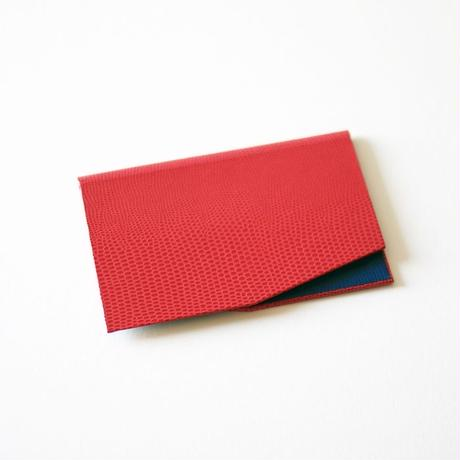 slim card case(red-blue)