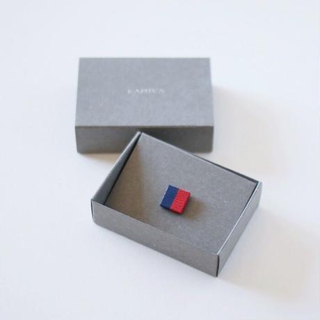 KAMIKA(カミカ) ピンブローチ pin brooch(red-blue)