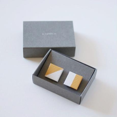 KAMIKA(カミカ) アクセサリーpierce/earring(yellow-white)