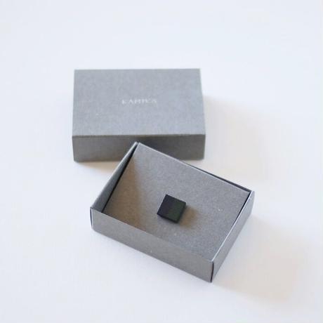 KAMIKA(カミカ) ピンブローチ pin brooch(navy-green)