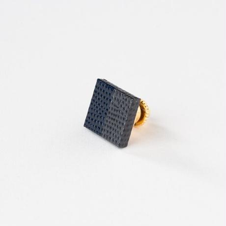 KAMIKA(カミカ) ピンブローチ pin brooch(grey-navy)
