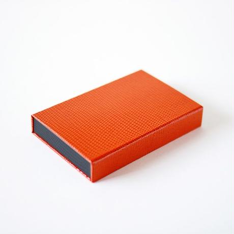 box card case(orange-grey)