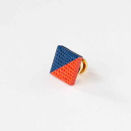 KAMIKA(カミカ) ピンブローチ pin brooch(blue-orange)