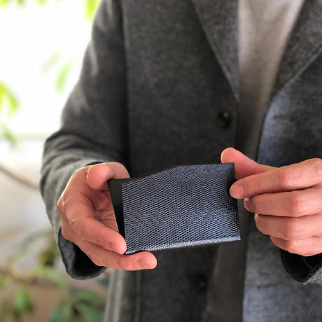 KAMIKA(カミカ) 名刺入れ slim card case(navy-green)