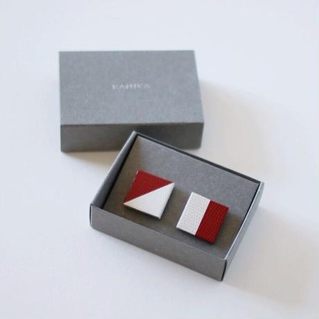 KAMIKA(カミカ) アクセサリーpierce/earring(wine-white)