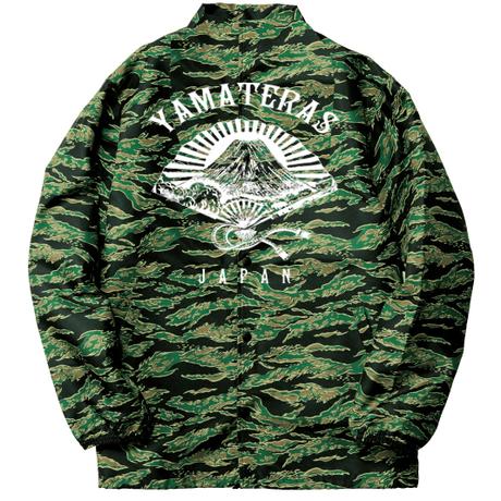 YAMATERAS Military Coach JKT  [tiger camo]