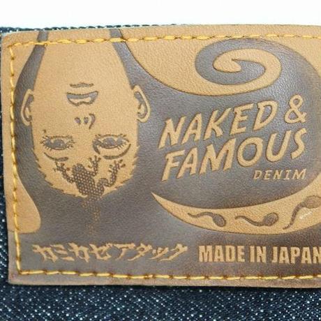 NAKED&FAMOUS × カミカゼアタック コラボジーンズ