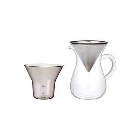 KINTO SLOW COFFEE STYLE コーヒーカラフェセット ステンレス 300ml
