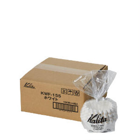 カリタ ウェーブフィルター155サイズ 100枚入 KWF-155(100P)