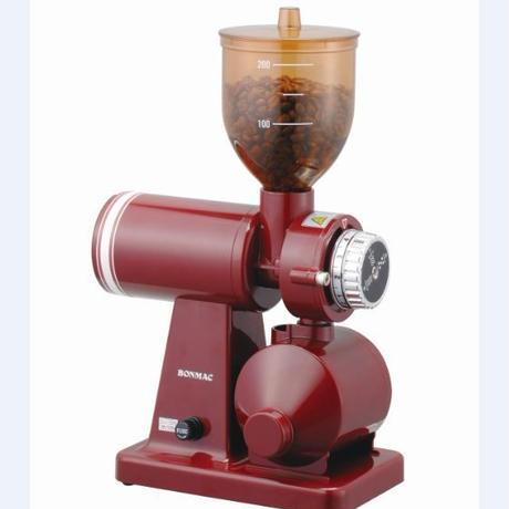 ★送料無料★bonmac 電動コーヒーグラインダーBM-250N RD