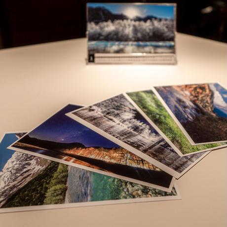 上高地ルミエスタホテル オリジナルポストカード&2020カレンダーセット