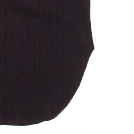2103PT04 SHNINY WIDE RIB RELAX STYLE PANTS